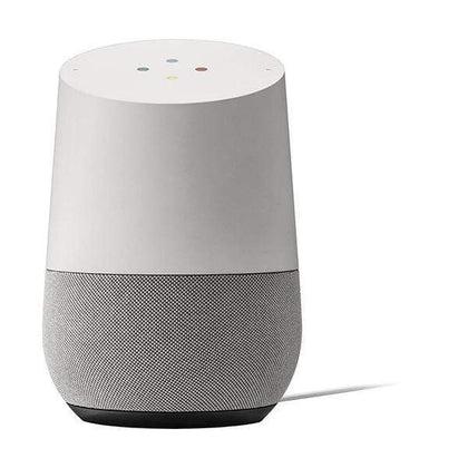 Google Home - Smart Speaker with Google Assistant- White/Slate