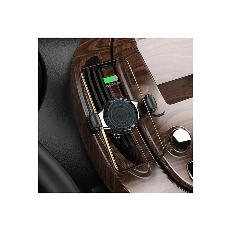 S1 in-car Wireless Charging Phone Holder - Roller Clamp Air Outlet