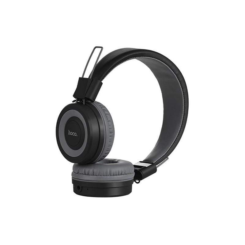 "Headphones ""W16 Cool motion"" wireless and wired adjustable head beam"