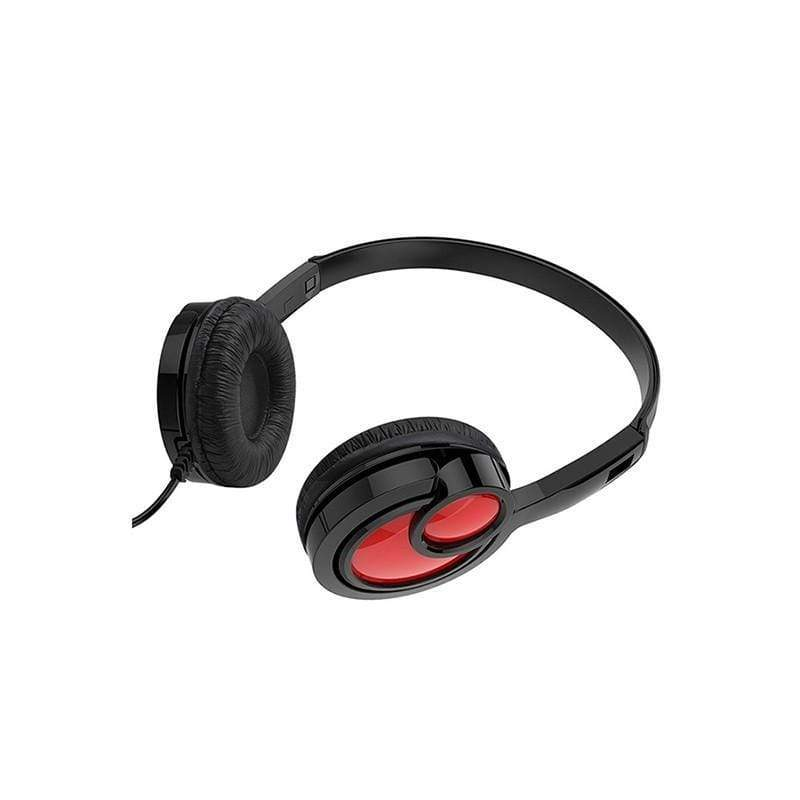 "Wired headphones ""W17 Delightful"" with mic adjustable head beam"