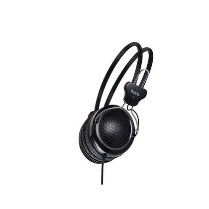 "Wired headphones ""W5 Manno"" with mic adjustable head beam"