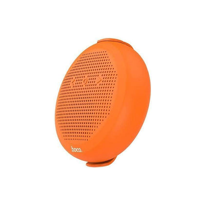 "WATERPROOF Speaker ""BS18 Temper sound"" wireless loudspeaker - Orange Color"