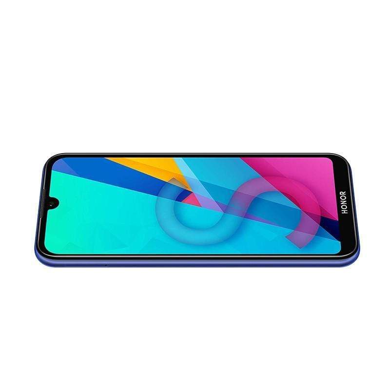 Honor 8s, 5.71″ IPS LCD display, Quad core, 2GB Ram, 32GB Memory, 13MP Rear Cam, 5MP Selphie Cam