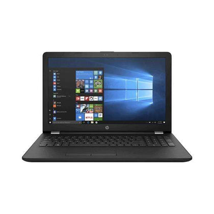 "HP Laptops Black / Brand New / 1 Year HP 250G7 Laptop, 15.6"" Screen, Intel Celeron N4020, 4GB Ram, 500GB HDD, Graphics: Shared VGA, DVDRW, EN/AR Keyboard"