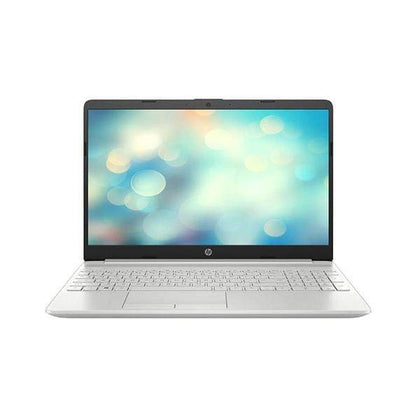 "HP Laptops Natural Silver / Brand New / 1 Year HP 15-DW3009 Laptop, 15.6"" FHD Screen, Intel Core i7-1165G7, 16GB Ram, 512GB SSD, Graphics: Nvidia MX450 2GB Dedicated, EN/AR Keyboard"