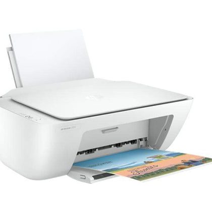 HP Printers / Scanners White / Brand New / 1 Year Copy of HP DeskJet 2320 All-in-One Color Printer