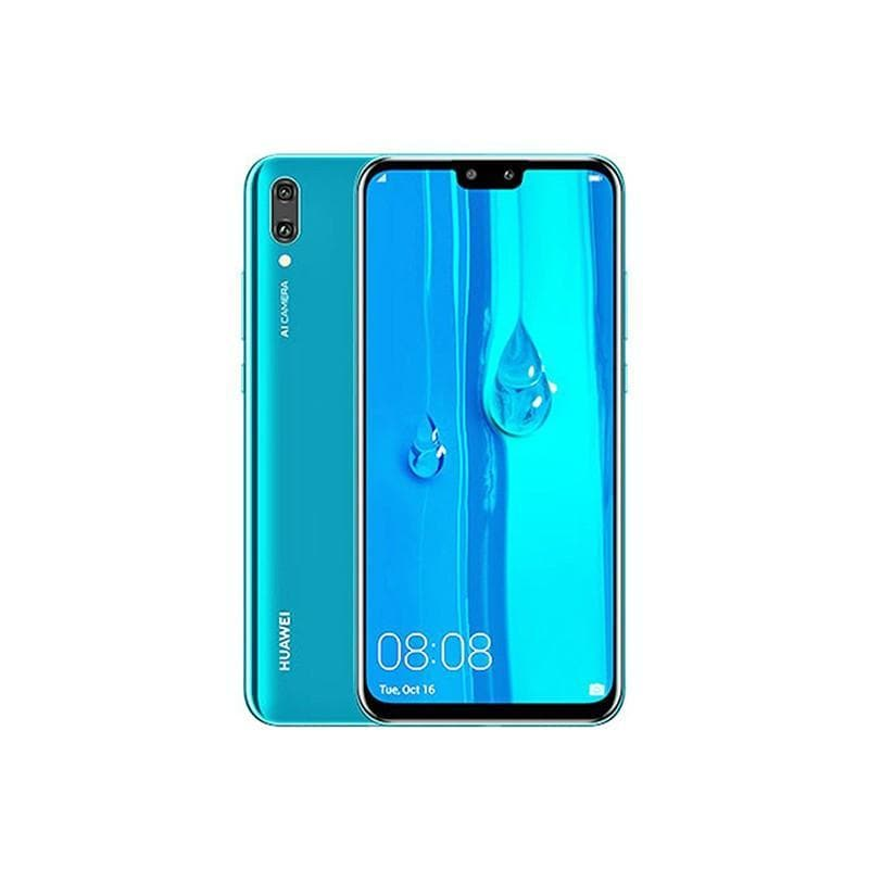 Huawei, Y9 2019, 6.5″ IPS LCD display, Octa core, 4GB Ram, 64GB Memory, Dual 16MP + 2MP Rear Cam, Dual 13MP + 2MP Selphie Cam