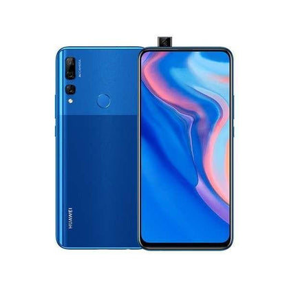 Huawei, Y9 Prime, 6.59″ IPS LCD display, Octa core, 4GB Ram, 128GB Memory, Triple 16MP Rear Cam, Popup 16MP Selphie Cam