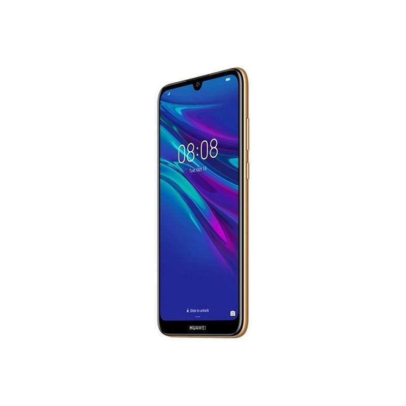 Huawei, Y6 2019, 6.09 Inch Screen, Quad core CPU, 2GB Ram, 32GB Memory, Face Unlock & Fingerprint, 3 Cards Slots, Cams 8MP-13MP