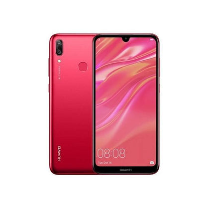Huawei, Y7 2019, 6.26″ IPS LCD display, Octa core, 3GB Ram, 32GB Memory, 16MP Rear Cam, Dual 13MP + 2MP Selphie Cam
