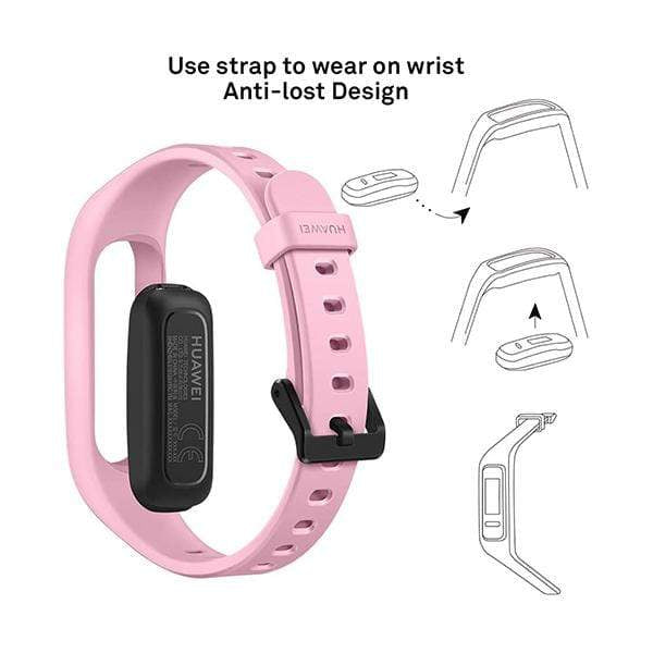 Huawei Smartwatch, Smart Band & Activity Trackers HUAWEI Band 3e Smart Fitness Activity Tracker, Dual Wrist & Footwear Mode, 5ATM Water Resistance for Swim, Professional Running Guidance