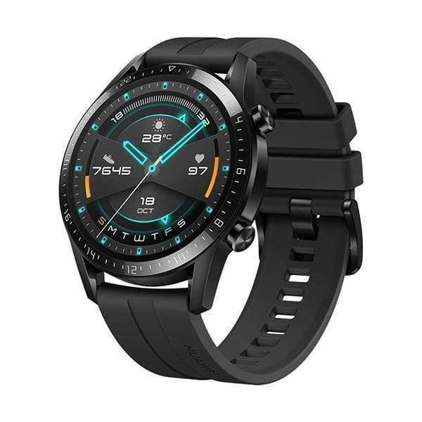 Huawei Watch GT 2 2019 Sport Edition, Matte Black, Bluetooth SmartWatch, 2 Weeks Battery Life, Waterproof, Compatible with Android & IOS, 46mm