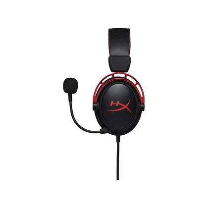 HyperX Cloud Alpha Pro HX-HSCA-RD-EM Gaming Headset - Detachable Mic - Works with PC, PS4, PS4 PRO, Xbox One, Xbox One S