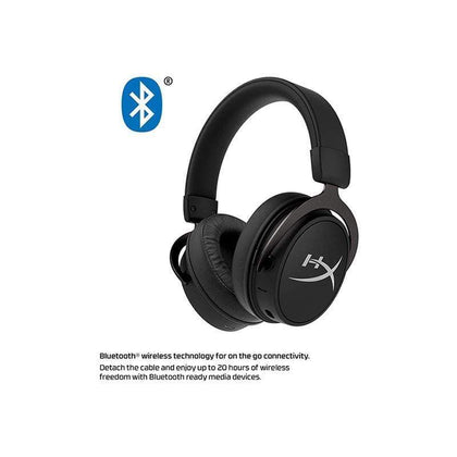 HyperX Cloud Mix Wired Gaming Headset + Bluetooth Option - Detachable Microphone - Signature Comfort - Lightweight - HX-HSCAM-GM