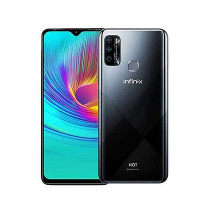 Infinix Mobile Phone Midnight Black / Brand New / 1 Year Infinix Hot 9, 4GB/64GB, 6.6 Inch IPS LCD Screen, Octa core CPU, Rear Cam Quad 13MP + 2MP + 2MP + QVGA, Selfie Cam 8MP, Fingerprint (rear-mounted)