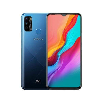 Infinix Mobile Phone Ocean Wave / Brand New / 1 Year Infinix Hot 9, 4GB/64GB, 6.6 Inch IPS LCD Screen, Octa core CPU, Rear Cam Quad 13MP + 2MP + 2MP + QVGA, Selfie Cam 8MP, Fingerprint (rear-mounted)