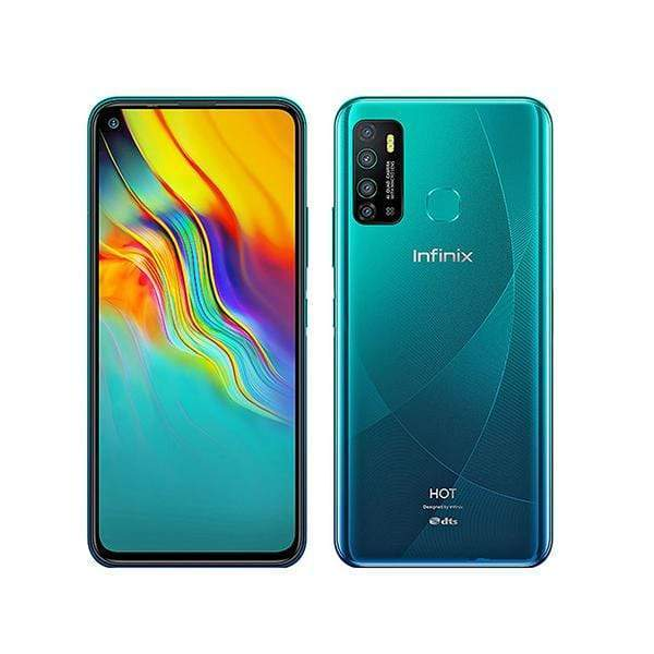 Infinix Mobile Phone Quetzal Cyan / Brand New / 1 Year Infinix Hot 9, 4GB/64GB, 6.6 Inch IPS LCD Screen, Octa core CPU, Rear Cam Quad 13MP + 2MP + 2MP + QVGA, Selfie Cam 8MP, Fingerprint (rear-mounted) + Free Jelly Case + Protective Film