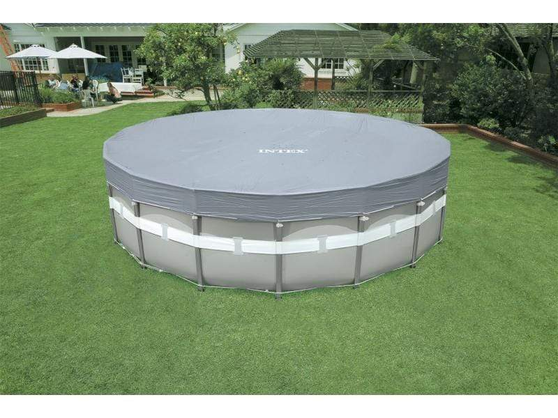 (INTEX)(Agp)(57900)Deluxe Pool Cover D. 5.49m S18