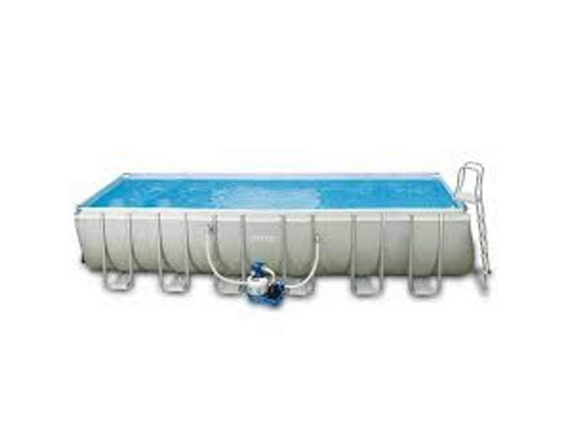 (INTEX)(Agp)Ultra Frame Rectangular Pool Set 7.32mx3.66mx1.32m S18