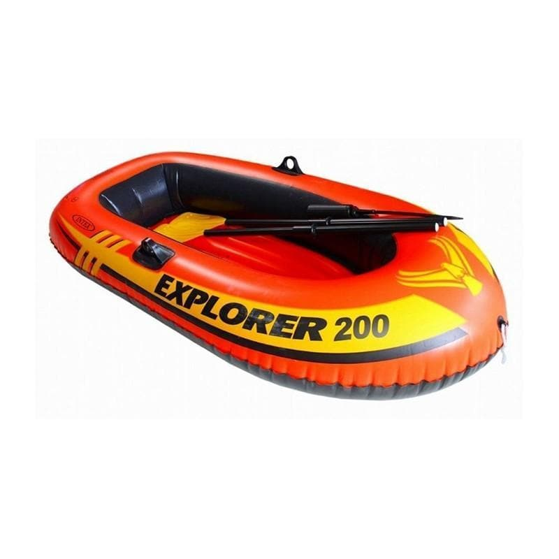 Intex Explorer 200 Inflatable Boat Set With Oars