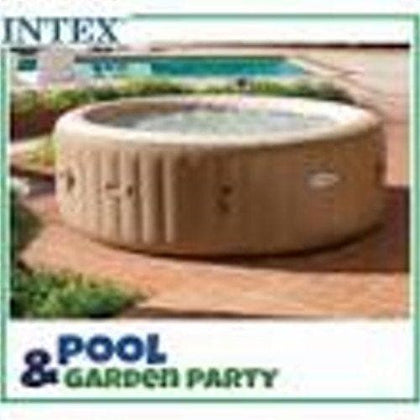 (INTEX)PURESPA BUBBLE MASSAGE SET D.2.16*H.071m Round S18