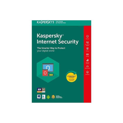 Kaspersky Internet Security - 1 Year License for 2 PCs (Up to 4 PCs)