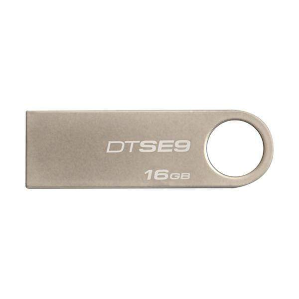 Kingston 16GB Digital DataTraveler SE9 USB 2.0 (DTSE9H/16GBZET),Silver Flash Drive