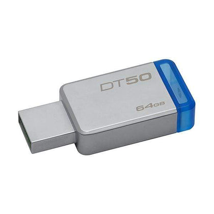 Kingston 64GB USB 3.0 Data Traveler 50, 110MB/s Read, 15MB/s Write (DT50/64GB)