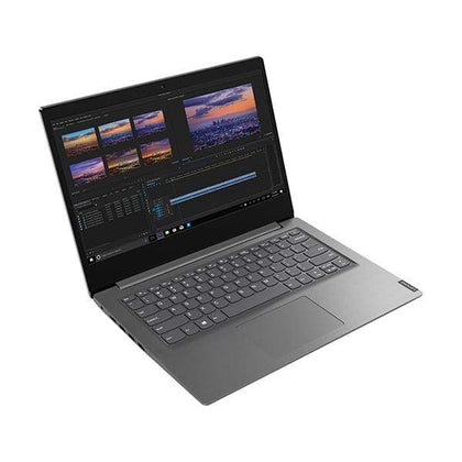 "Lenovo Laptops Iron Grey / Brand New / 1 Year Lenovo V14-82C400D1ED Laptop, 14"" HD LED, Intel Core i5-1035G1, 4GB Ram, 1TB HDD Support NVME, Graphics: Shared VGA, EN/AR Keyboard, Windows 10"