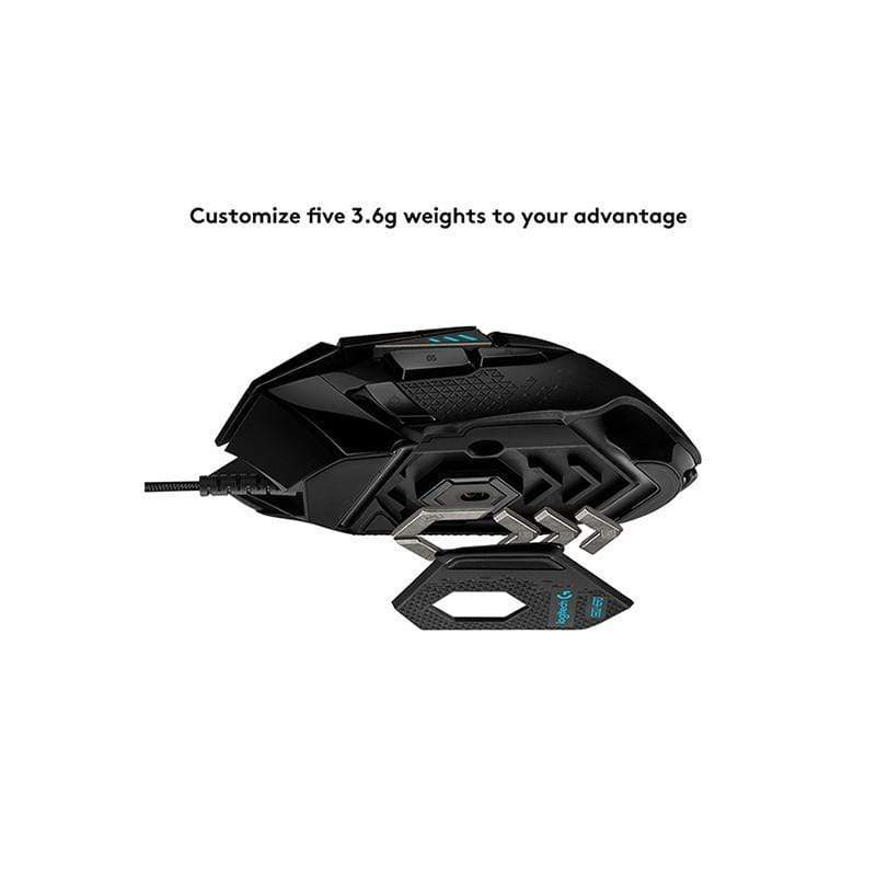 Logitech G502 HERO High Performance Gaming Mouse 910-005471
