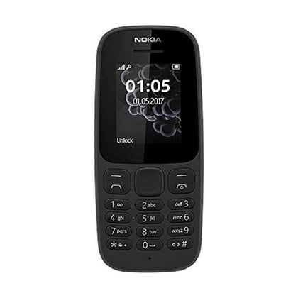Mobileleb.com Black Nokia N105 2019, 1.8″ Display