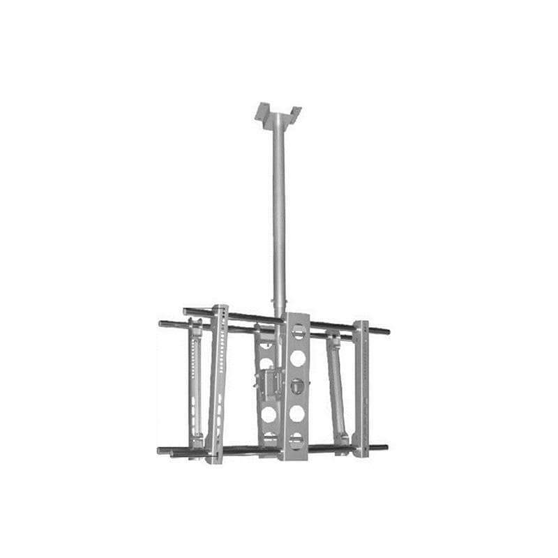 Ceiling Stand for 2 x LED - LCD - Plasma TV 30''-63'', Double Side Mounting - H88