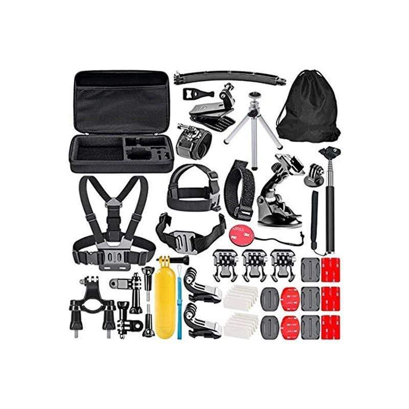50 in 1 Accessories Bundles Kit with Case for Gopro