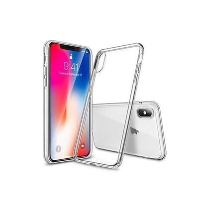Simple High End Silicone Cover, for iPhone X, Clear