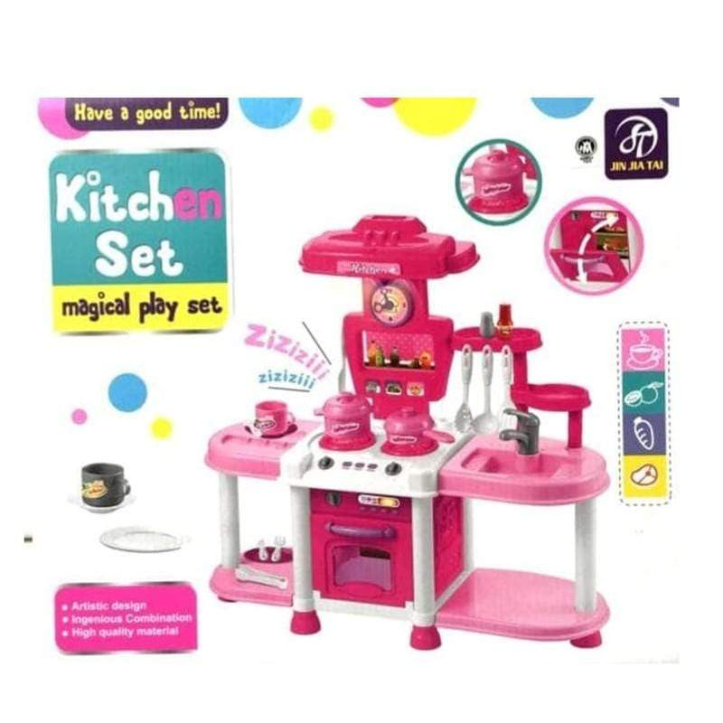 Kitchen Set Magical Play Set - Ages: 3+