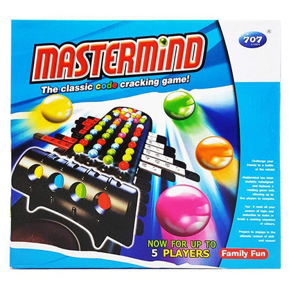 Master Mind The Classic Code Cracking Game 707-9