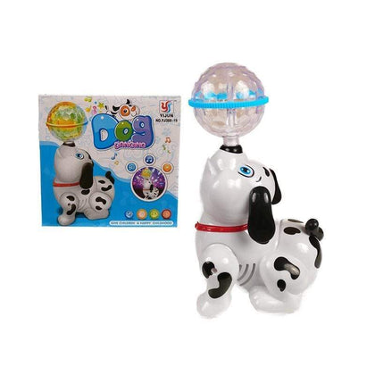 Musical Dancing Dog With Disco Lights