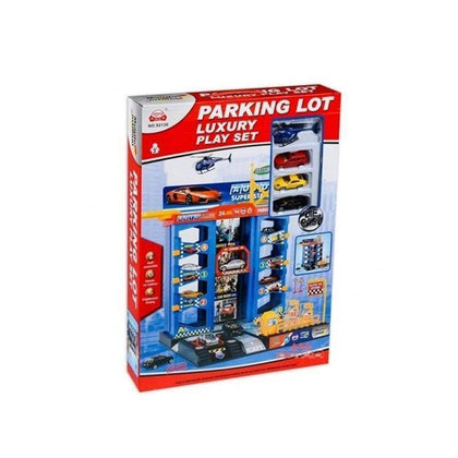 Parking Lot Luxury Play Set - Ages: 3+