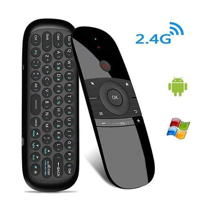 Mobileleb.com Keyboards & Mice Black / Brand New Mini 2.4G Dual Side Fly Air Mouse & Wireless Keyboard IR Switch Up to 10 meters MacOS, Android, TV Box