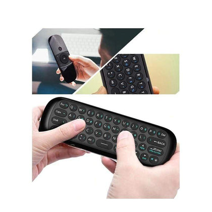 Mini 2.4G Dual Side Fly Air Mouse & Wireless Keyboard IR Switch Up to 10 meters MacOS, Android, TV Box