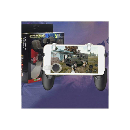 PUBG 5 in 1 Gamepad Kit Handle Joystick and Fire Trigger Case For Android and IOS