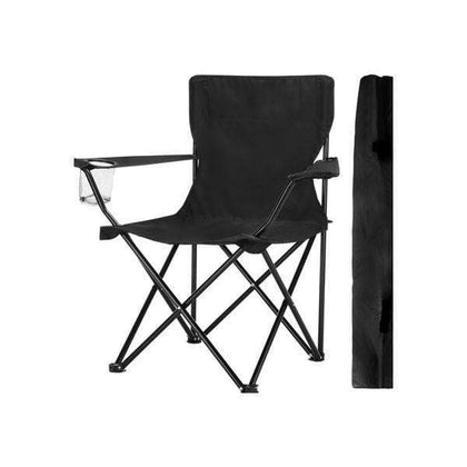 Folding Chair with Arms Holder