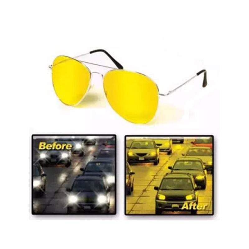 Night View Glasses - Yellow Turn night into bright