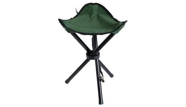 Tripod Portable Folding Camping Chair - Seat Height 45 cm
