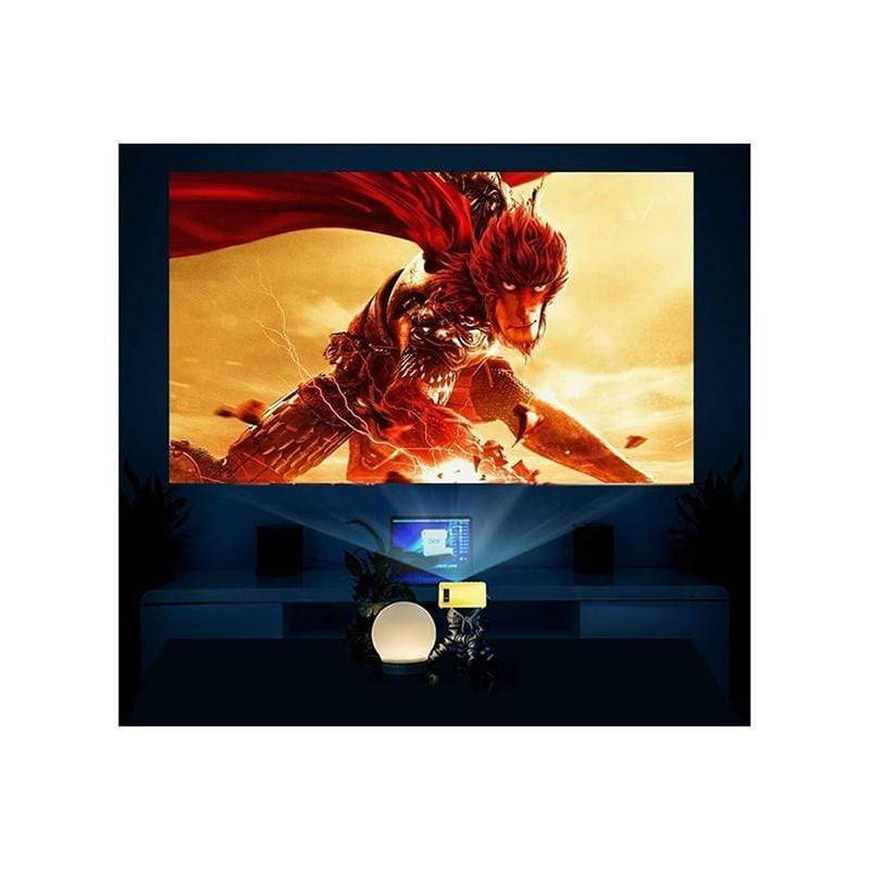 DeepLee Mini Projector DP300 Portable LED Projector