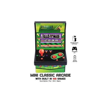 Mini Classic Arcade Built In, 108 Games in 1