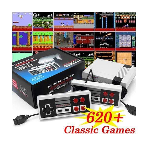 Retro Mini Game Entertainment System, Anniversary Edition, Built-in 620 Classic Games