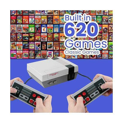 Mobileleb.com Retro Gaming Console Retro Mini Game Entertainment System, Anniversary Edition, Built-in 620 Classic Games
