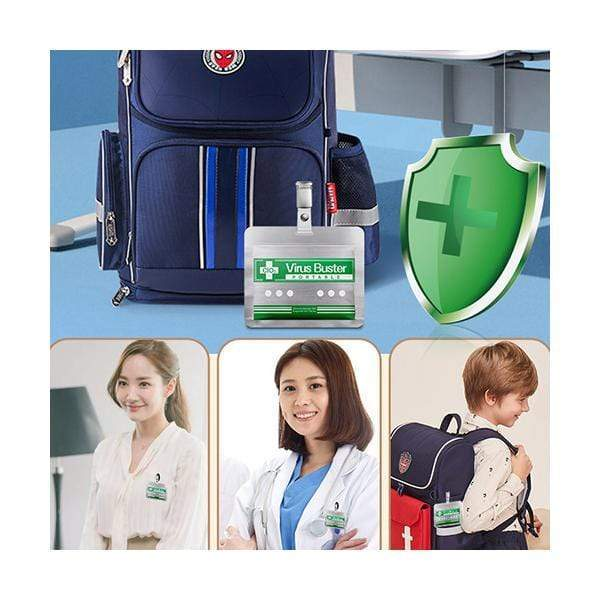 Virus Buster Portable Air Purification Expert, Personal Air Sanitizer