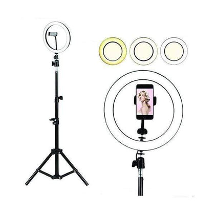 Mobileleb.com Selfie Kick Stand Led Ring Light 26CM